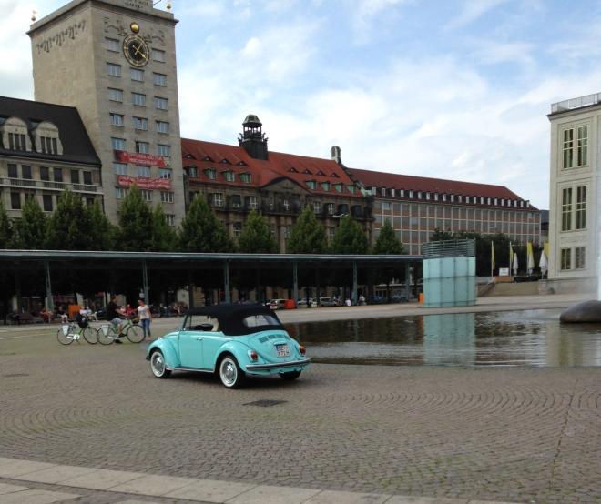 Fountain Oper Leipzig